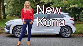 New 2022 Hyundai Kona review // Some interesting changes..