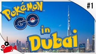 POKEMON GO IN DUBAI | Palm Jumeirah | HSN Vlogs