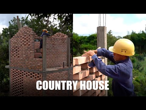 HOW TO BUILD A COUNTRY HOUSE STEP BY STEP
