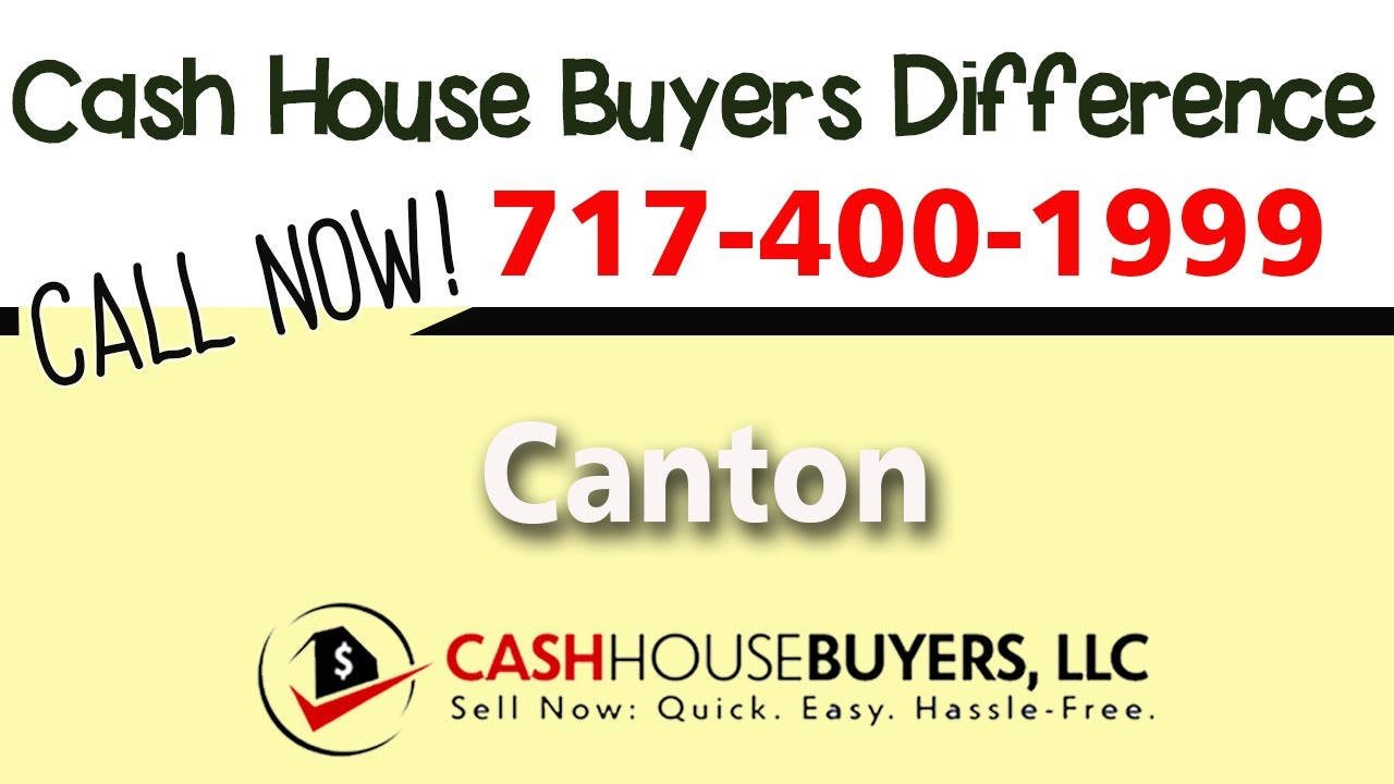 Cash House Buyers Difference in Canton MD | Call 7174001999 | We Buy Houses