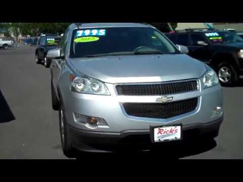 2012 CHEVY TRAVERSE LT AWD SOLD!!