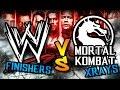 Funny WWE Finishers meets Mortal Kombat Xrays