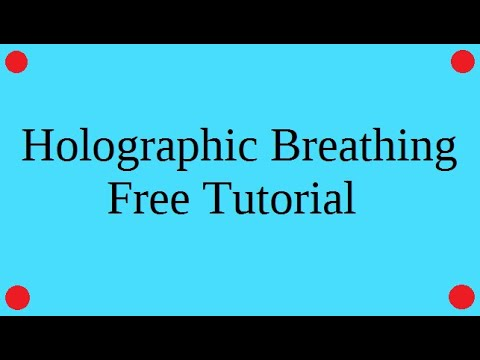 How to do Holographic Breathing Free tutorial 2017