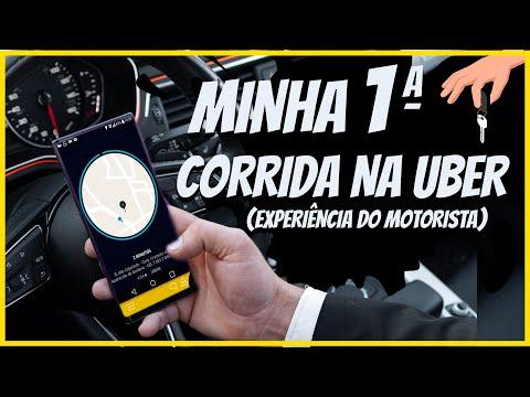 Minha primeira Corrida na Uber 😁🚙 ( Motorista )