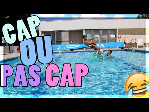 CAP OU PAS CAP PISCINE! W/Theo