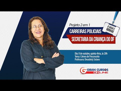 Projeto 2 em 1 Carreiras Policiais / Secria - Crimes de Preconceito - Prof. Deusdedy Solano