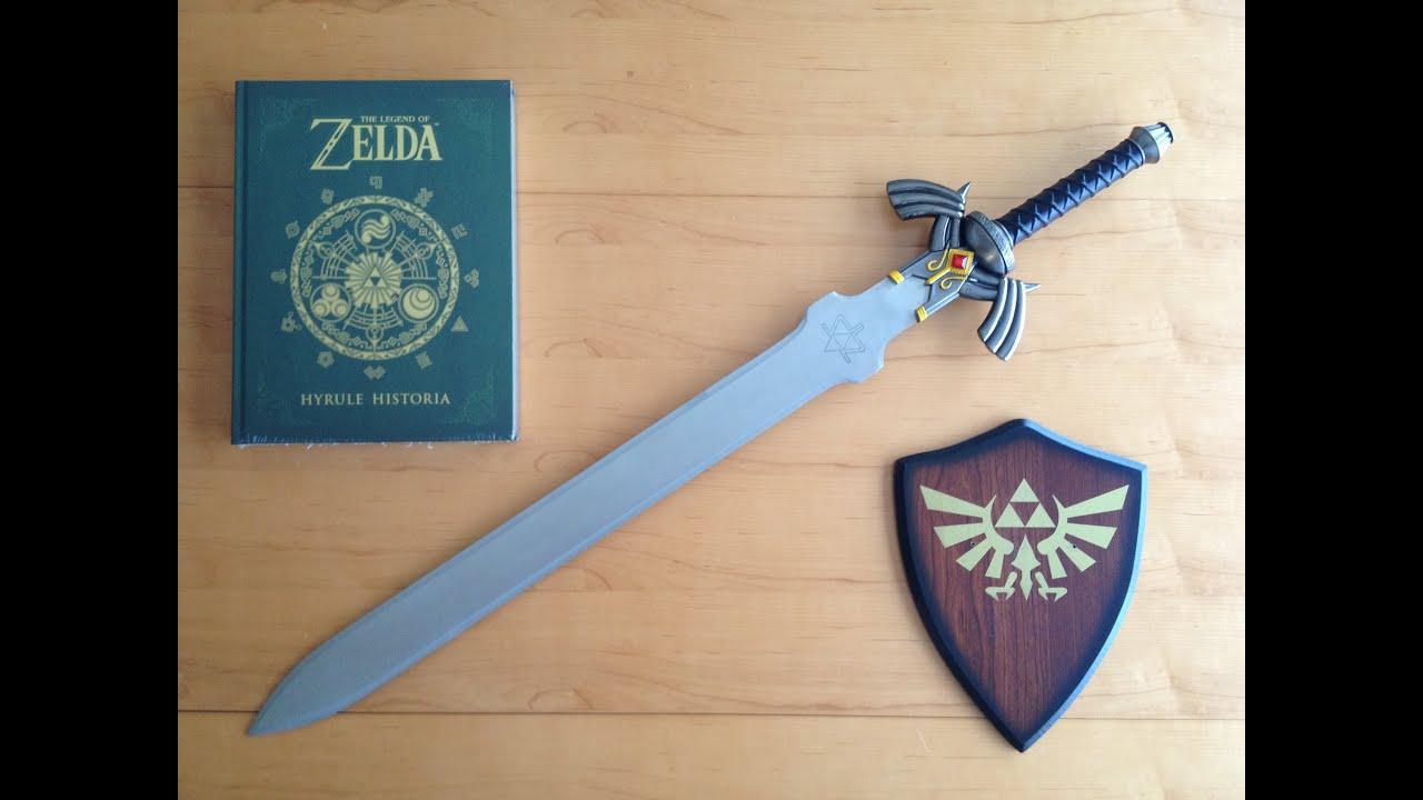 The Legend Of Zelda MASTER SWORD Replica Hands On Unboxing HD