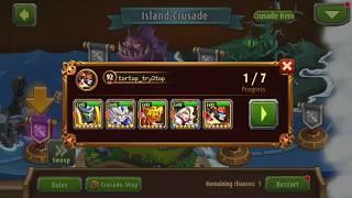 Island Crusade Saizo Solo All 7 Elite Stages
