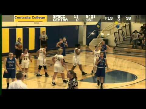 Centralia College Women's Basketball 2-17-2016