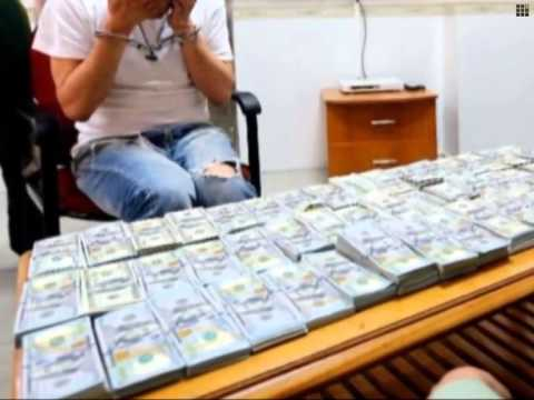 Man wearing 580,000 USD in cash caught at customs