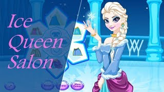 Ice Queen Salon | Beauty Makeup and Dress Up Gameplay for Girls