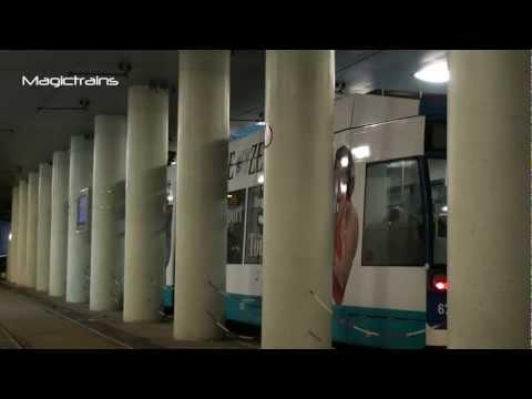 Strassenbahn Rostock RSAG Ostsee-Zeitung Wagen 678 Linie 6 Mensa