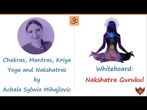 Whiteboard: Chakras, Mantras, Kriya Yoga and Nakshatras