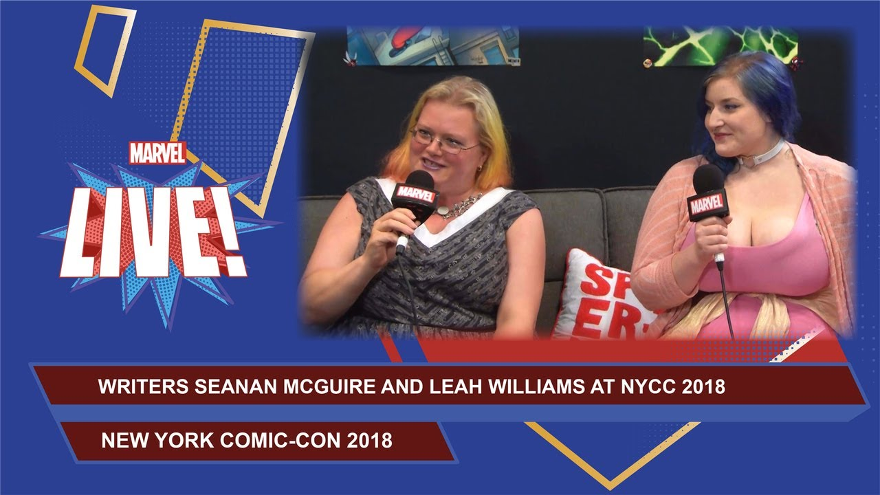 Writers Seanan McGuire and Leah Williams stop by Marvel ...
