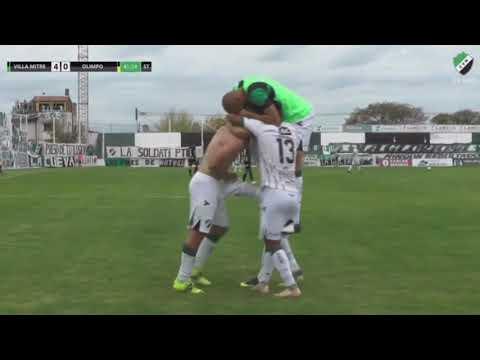 Federal A de fútbol: Villa Mitre goleó 5 a 1 a Olimpo