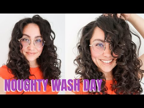 Download SIMPLE CURLY HAIR WASHDAY USING ONLY NOUGHTY   JODIE IZZO