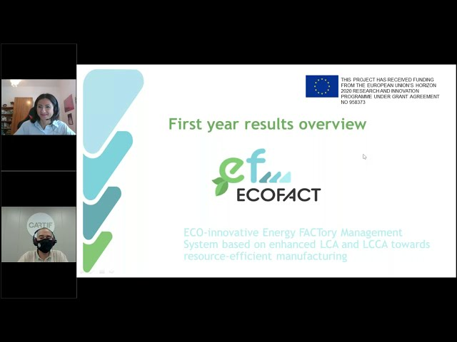 ECOFACT -  Year One Results Overview