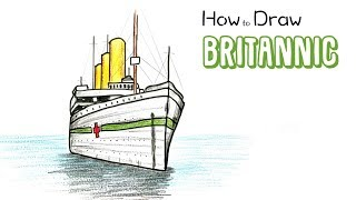 How to Draw the Britannic