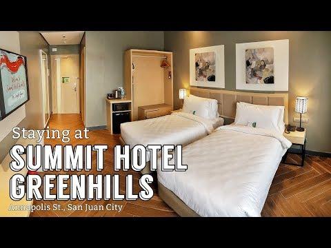 Staying At Summit Hotel Greenhills