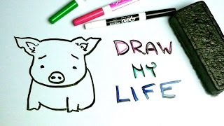 Draw My Life | A Pig in Today