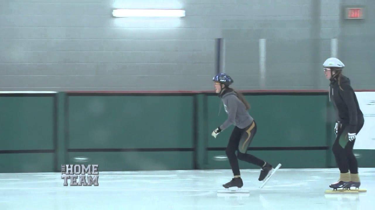 Kate Miyasaki of Cambridge Speed Skating - The Home Team - YouTube