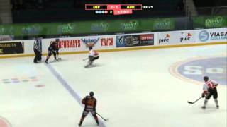 HockeyAllsvenskan 2012/13 Omgång 39: Djurgårdens IF - Asplöven HC