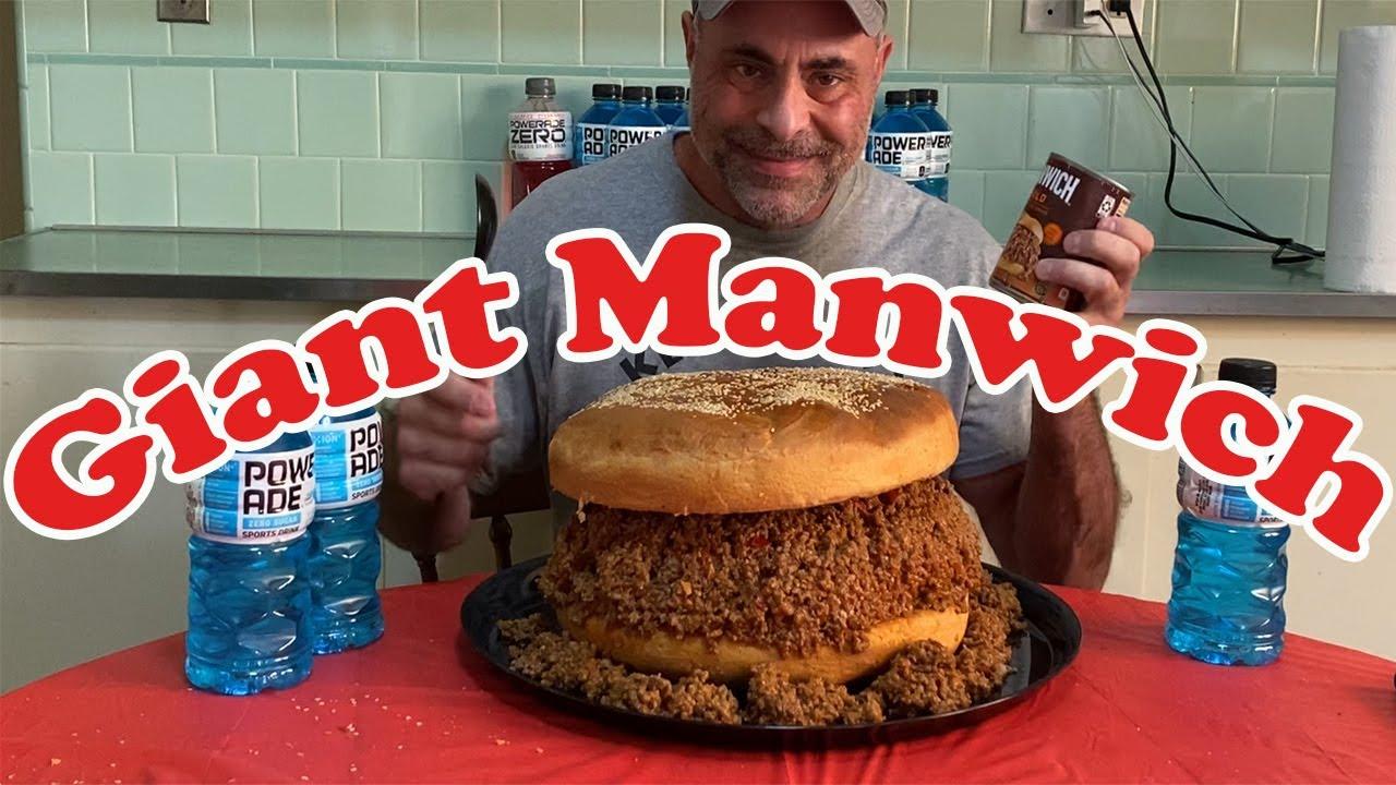 Giant Manwich | Sloppy Joe