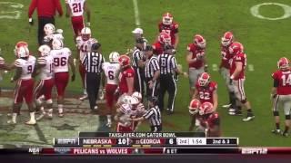 2014 Gator Bowl: Nebraska vs Georgia
