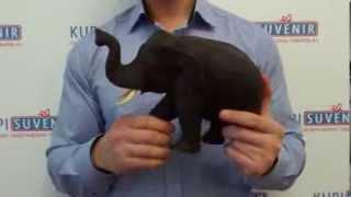 Статуэтка деревянная «Мудрый слон маленький»