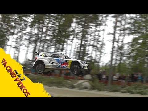 WRC Rally Finland 2014  Maximum Attack On The Limit Jumps