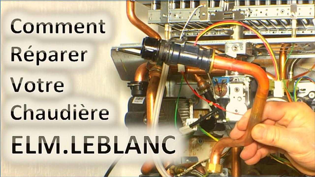 Comment Reparer L Eau Chaude D Une Chaudiere Elm Leblanc Nglm 23 6h Youtube
