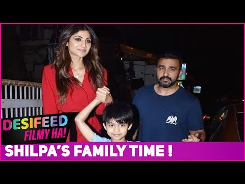 Download Shilpa Shetty And Raj Kundra Spotted On A Movie