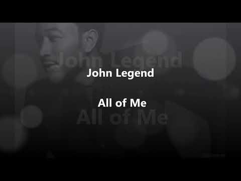 All of me lyrics ...john legend