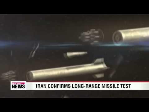 Iran confirms long-range missile test