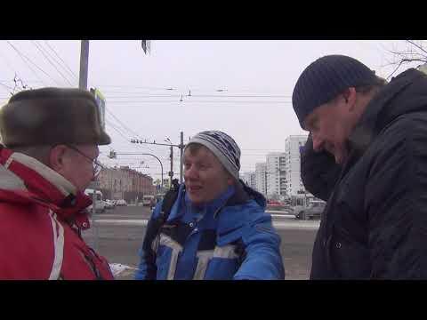 Фрагмент пикета НОД Челябинск. Пост№1 28.11.2018