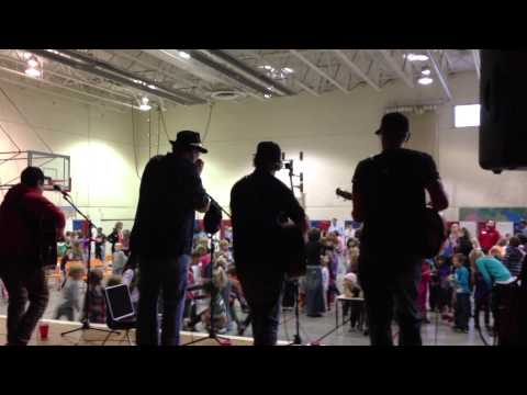 Brothers Keeper with John Popper and Jono Manson at Red Sandstone Elementary School.