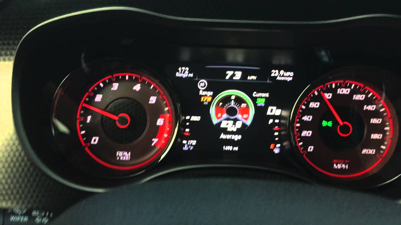 2016 Charger Hellcat Fuel Economy - YouTube