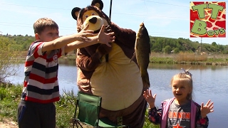 Прогулка с Медведем на природу | Видео для детей