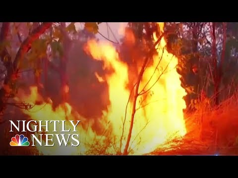 U.S. Supertanker Joins Fight Against Amazon Fires | NBC Nightly News