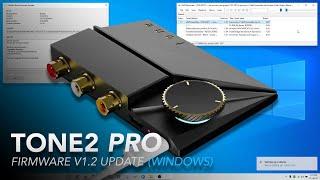 Tone2 Pro - XMOS & MCU Firmware Upgrade (Windows)