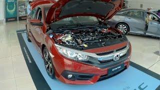 The New 2016 Honda Civic 1.5L Turbo Malaysia Launched Interior Exterior Walk Around HD