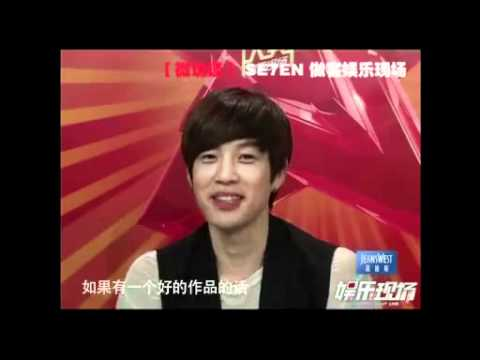 110324 Se7en on 娱乐现场 - Interview (China)