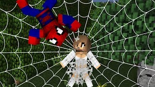The Amazing Spiderman Life - Minecraft Animation