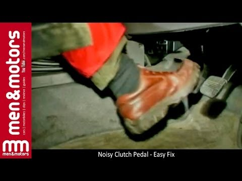 Noisy Clutch Pedal - Easy Fix
