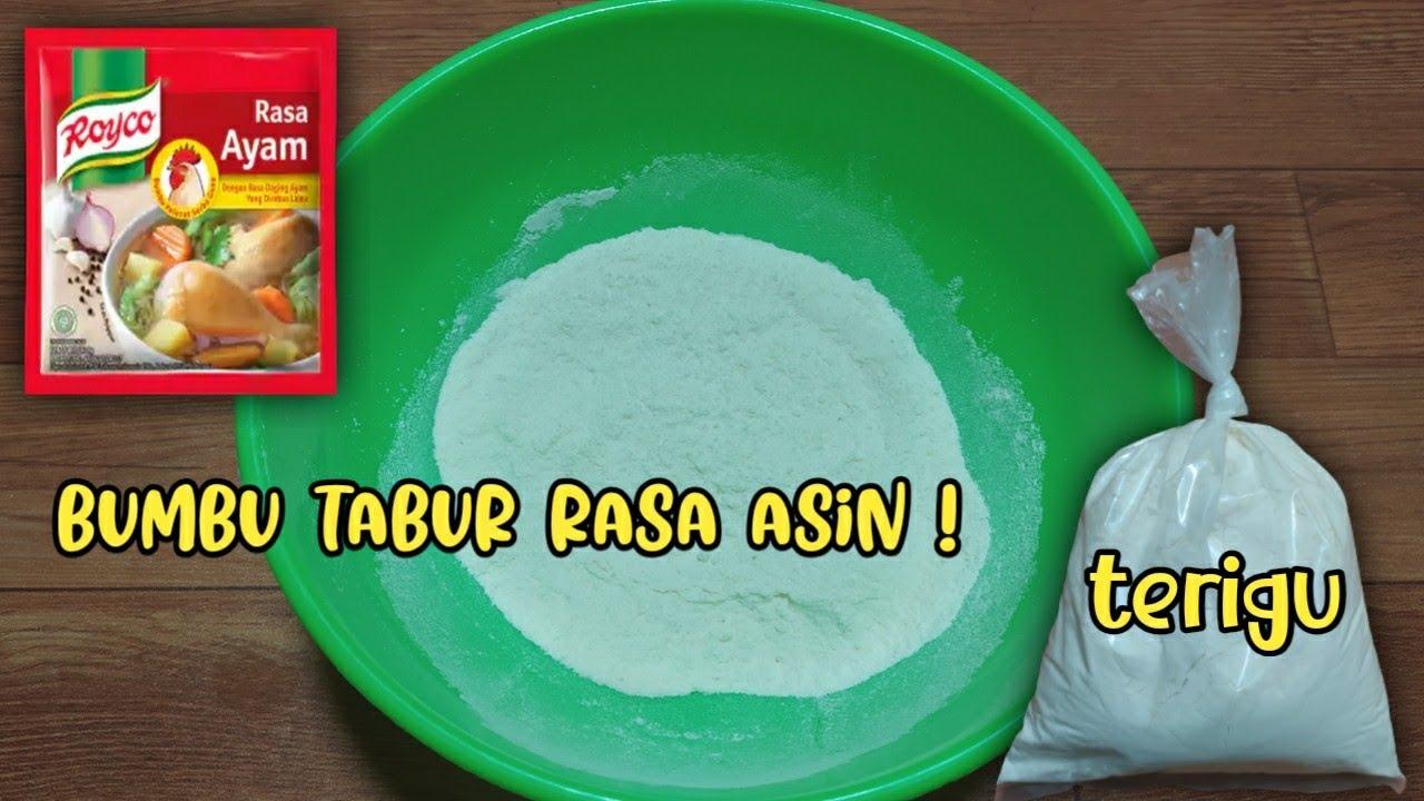 Cara membuat bumbu tabur rasa ayam bawang/asin mudah & simple banget