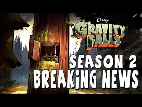 Gravity falls season 2 breaking news release date pictures and