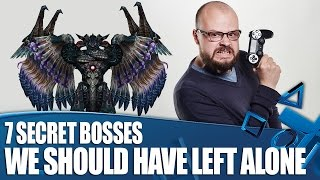 7 Secret Videogame Bosses We Should Have Left Well Alone