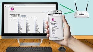 How to access localhost on android over wifi wampserver