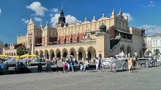 Kraków: rynek i Stare Miasto (Cracow: Main Square and Old Town), Poland [HD] (videoturysta.pl)