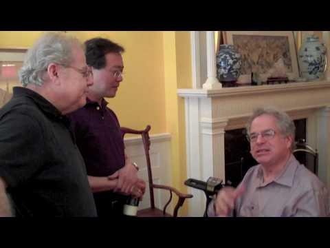 Itzhak, Yo-Yo, & Emanuel talk Mendelssohn (he wasn't just a composer)